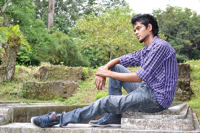muchacho solitario