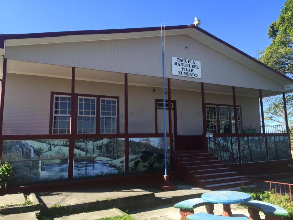escuela manuel del PilarZumbado