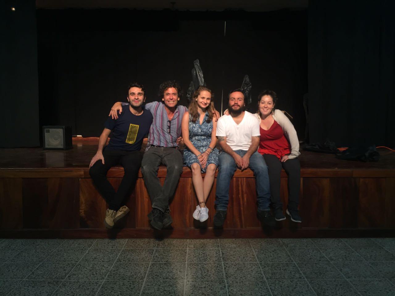 Foto 1. Integrantes del grupo Argamasa