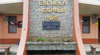 La Escuela España fue fundada en el año 1925.