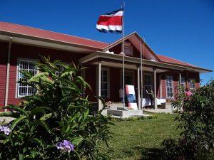 Así lució luego de su restauración la Escuela Juan Ramírez Ramírez, en Tobosi de Cartago, inmueble ganador del certamen Salvemos nuestro patrimonio histórico-arquitectónico 2011.