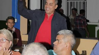 La celebración de la victoria del horacismo se llevó acabo en la soda del balneario Ojo de Agua.