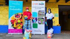 En la campaña se han entregado diarios y artículos de higiene a 250 familias en San Rafael de Alajuela.