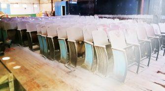 Foto del Teatro El Nacimiento, tomada durante una visita realizada por la Comisión de Cultura en octubre anterior.