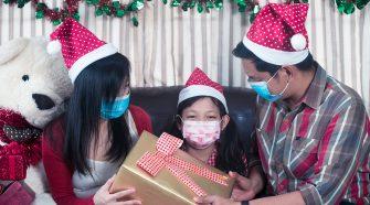 Las mascarillas deben estar presentes en nuestras fiestas navideñas.