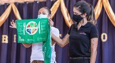 Los paquetes escolares tendrán productos de higiene.