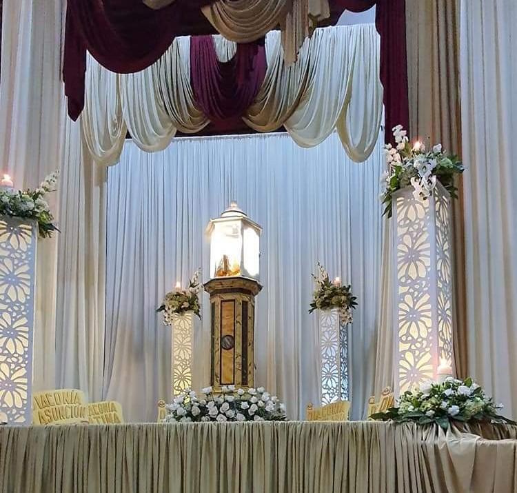 El Santo Monumento fue develado en la eucaristía del Jueves Santo. Cortesía de José Luis Sánchez Zumbado. Foto de Andrea Sanabria Alfaro.