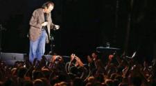 El balneario Ojo de Agua fue sede de un multitudinario concierto de Joan Manuel Serrat.