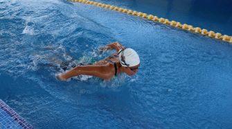 Beatriz mejoró su marca personal en los Juegos Olímpicos de Tokyo. Foto cortesía del Comité Olímpico Nacional.