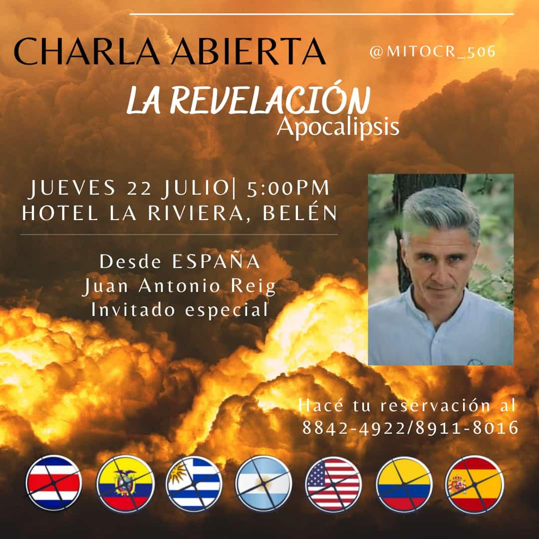 El español Juan Antonio Reig será quien imparta el taller.