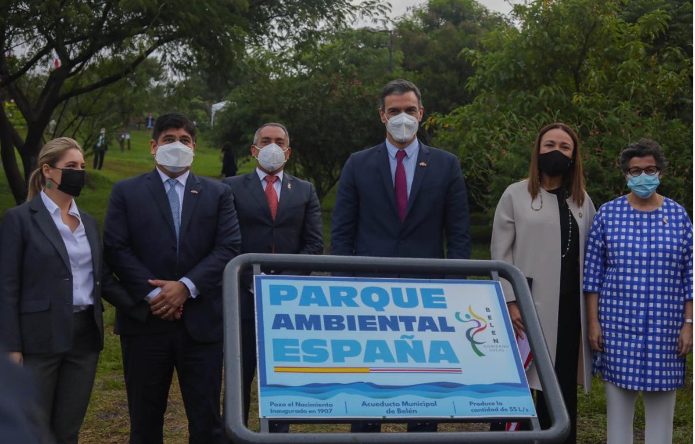 """El Parque Ambiental es conocido por las y los belemitas como """"los Mamines""""."""