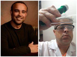Carlos Soto Villalobos y Gustavo Chavez son los docentes que tienen a cargo el proceso de Olimpiadas de Química.