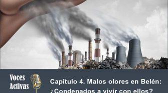 El capítulo 4 del podcast Voces Activas aborda la problemática de los malos olores que sufren a diario los vecinos de La Ribera.