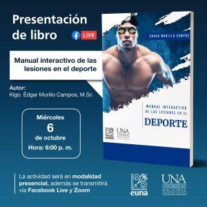La presentación se realizará el miércoles 6 de octubre.